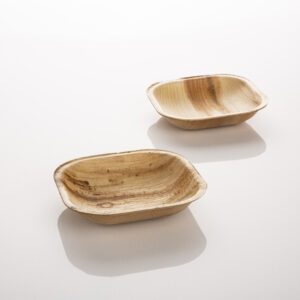 Natural Compostable Small Entree Plate