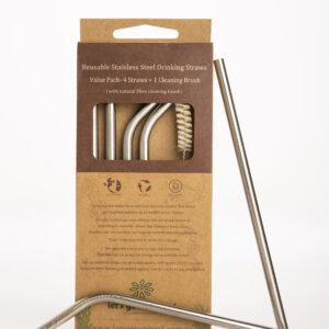 Stainless Steel Straws-Value Pack