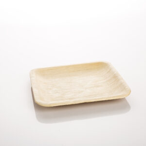 Plate Disposable & Compostable Square Small 10 Pack