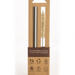 Bubble Tea Straw- reusable Stainless Steel