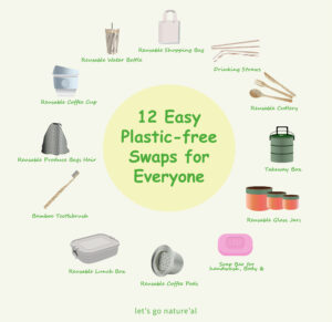 Read more about the article Easy Plastic-free Swaps for Everyone.