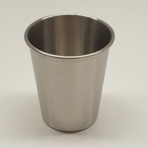 Reusable Cup Stainless Steel, set of 6 cups